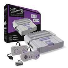 Hyperkin RetroN 2 Gaming Console for SNES/ NES (Gray)