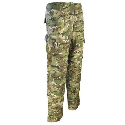 "Kombat Assault Trousers ACU Style BTP MTP 30-32"" Small"