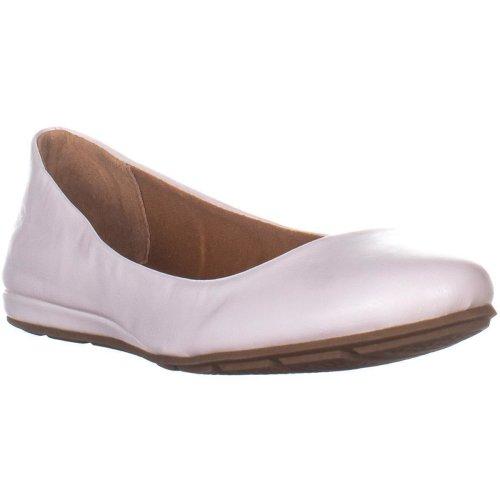 AR35 Ellie1 Ballet Flats, White, 5 UK