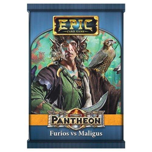 White Wizard Games WWG313D Epic Pantheon Furios Maligus Display - 12 Cards