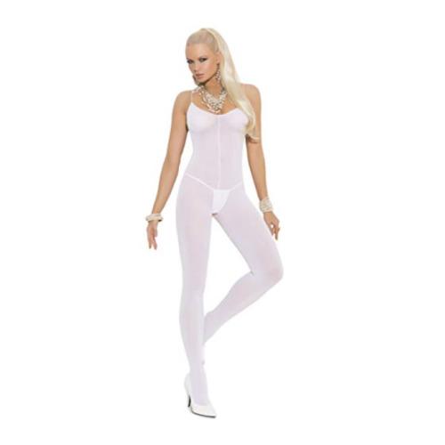 Elegant Moments white opaque bodystocking 16-18-20-22
