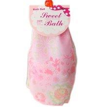 Set of 2 Dreamlike Organza Exfoliator Bath Ball Body Cleansing Scrubber/Pink