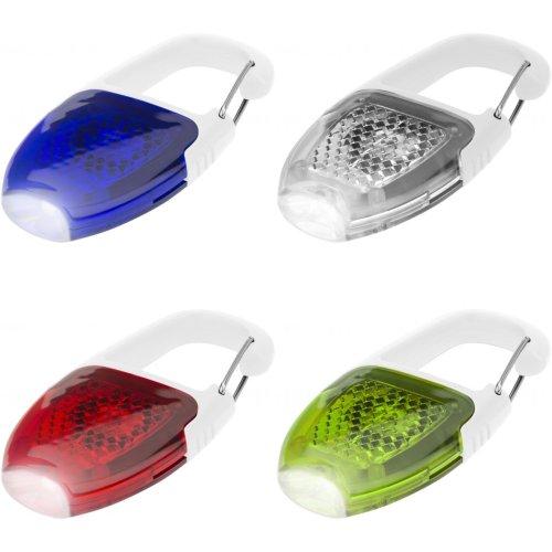 Bullet Reflector Carabiner Key Light