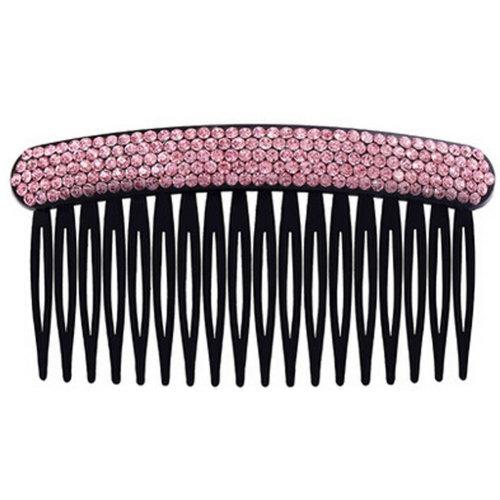 Elegant Luxury Diamond Hair Clip Hairpin Hair Barrette Hair Accessories,Pink