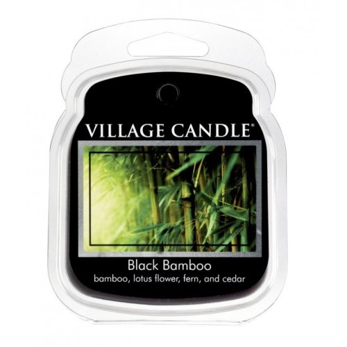 Village Candle Wax Melt Packs For Use with Melt Tart & Oil Burners Black Bamboo