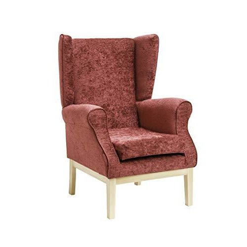 MAWCARE Ashbourne Orthopaedic High Seat Chair - 17 x 18 Inches [Height x Width] in Darcy Bordeaux (lc23-Ashbourne_d)