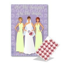 Pin the Bouquet on the Bride | Hen Party Game