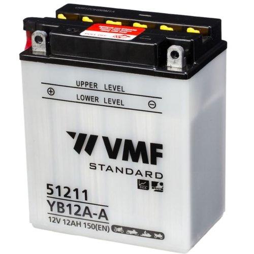 VMF Powersport Battery 12 V 12 Ah YB12A-A/12N12A-4A-1