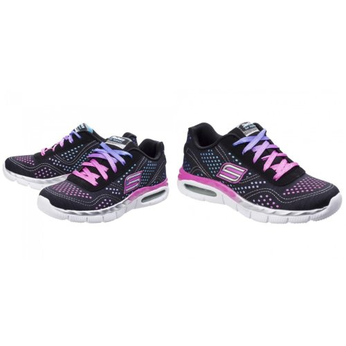 Skechers Childrens Girls SK81715L Air Appeal Crazy Crush Sports Trainers
