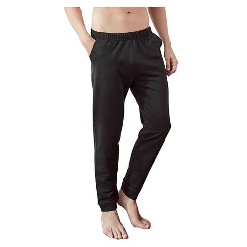 Cotton Men's Sweatpants Men's Pajamas Men's Sweats for Autumn Winter [A]