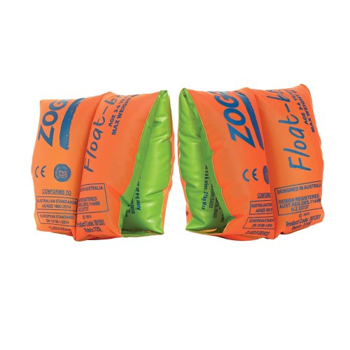 Zoggs Children's Safe Float Arm Bands, Orange, 3-6 Years up to 25 kg