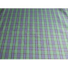 "Tartan - Blue / Green - 100% Cotton Fabric by the metre 44"" / 112cm wide"