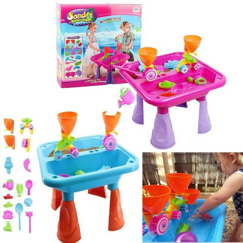 23 Piece Sand and Water Table with Accessories
