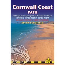 Cornwall Coast Path - Bude to Plymouth Planning, Places to Stay, Places to See (Trailblazer British Walking Guide) (Trailblazer British Walking Gu...