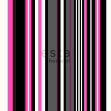 wallpaper stripes pink and black - 116534