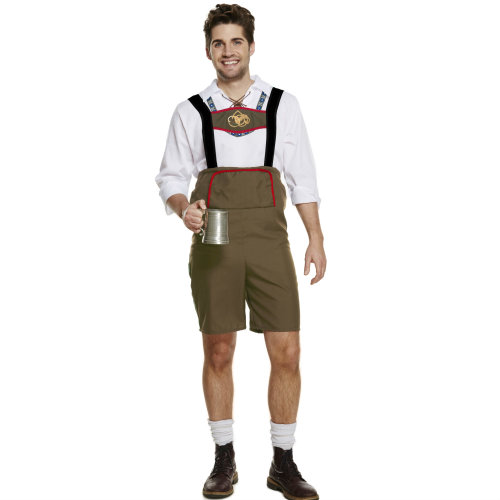 Oktoberfest Bavarian Festival Man Fancy Dress Costume