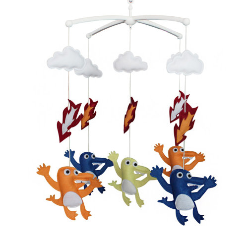 Baby Mobile Hanger Creative Baby Toy For Unisex Baby Musical Mobile
