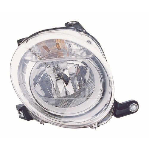 Fiat 500 2008-> Headlight Headlamp Drivers Side Right