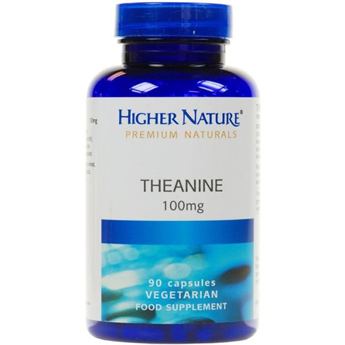 Higher Nature Theanine 100mg 90 Capsules