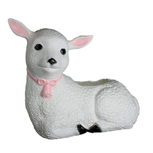 Union Products 51690SC Plastic Lamb Planter