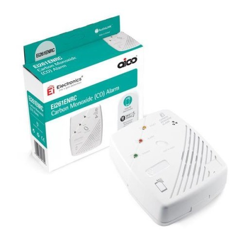 Aico 396966 Mains Carbon Monoxide Alarm with 10 Year Battery Backup