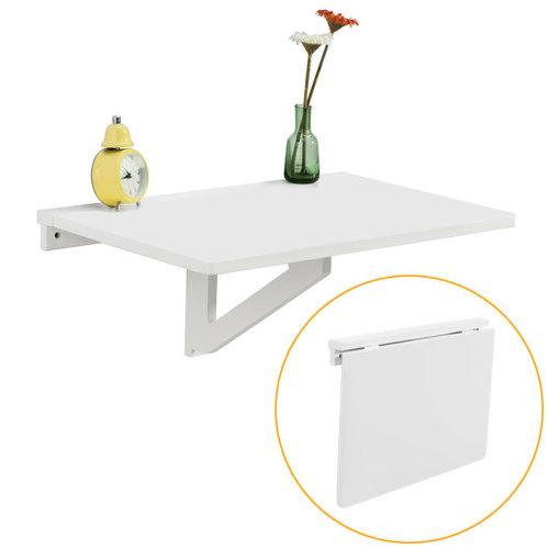 SoBuy® FWT03-W, Folding Wall-mounted Drop-leaf Table, Computer Desk Children Desk Kitchen Dining Table, 60x40cm