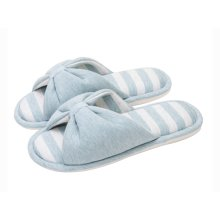 (Made By Cotton)Skidproof The Simple Style Of Home Slippers(Light Blue)