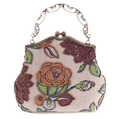 Women's Vintage Style Clutch Evening Bag Elegant  Luxurious Handbag Purse-Banquet-Cocktail Party,K