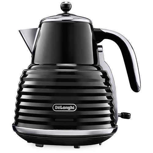 De'Longhi Scultura Kettle Black High Gloss