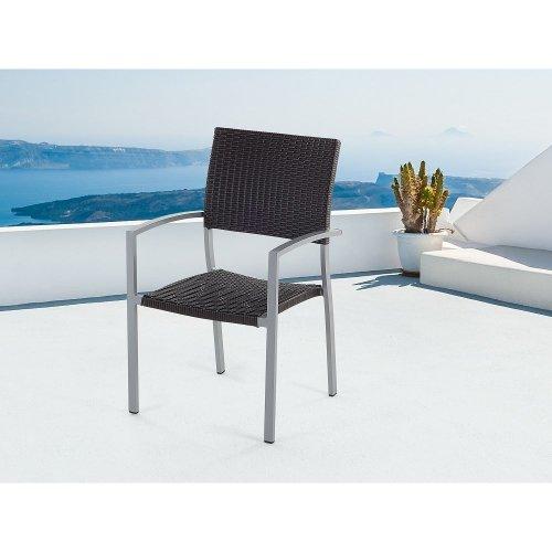 Garden Chair - Wheaterproof Rattan Chair -TORINO