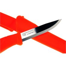 Mora Companion 860 Neon Orange Stainless Steel Bushcraft Knife - Made in Sweden