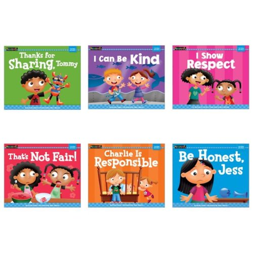 Newmark Learning 1567368 Books I Get Along with Others Engish - Set of 6