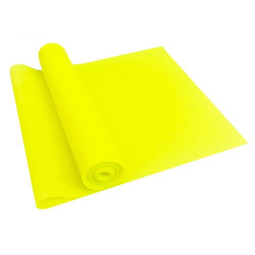 Natural Material Plastic Thin Yoga Belt Exercise Belt-Yellow