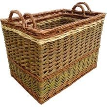 Set of 2 Buttermere Small Log Baskets