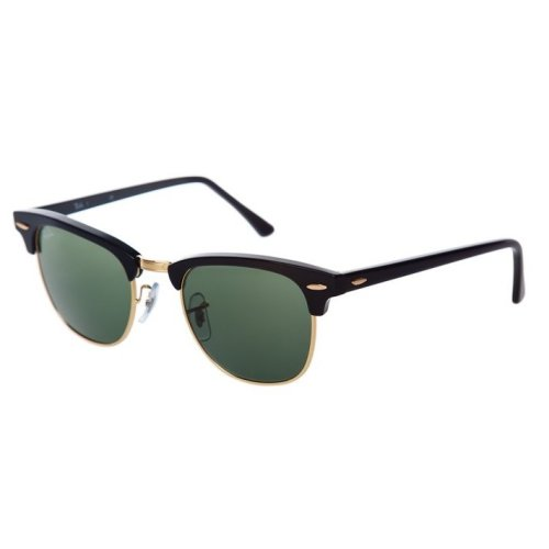 0c0cdd6850 Ray-Ban Clubmaster Classic Sunglasses RB3016-W0365-49 on OnBuy