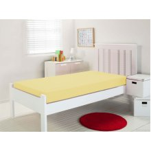 Waterproof Fitted Sheet - Yellow