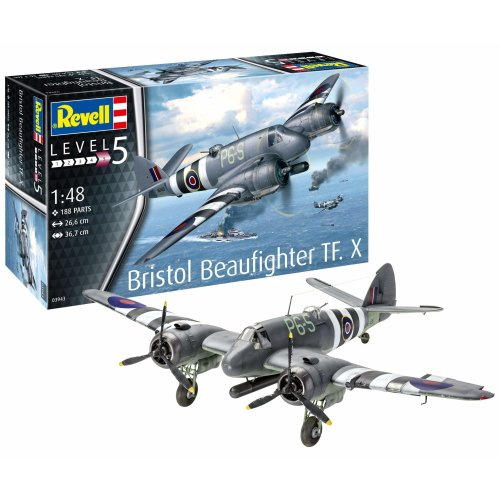 Revell Bristol Beaufighter TF.X Model Kit, 1:48 Scale