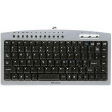 Targus Compact USB Keyboard - UK Layout Silver/Black