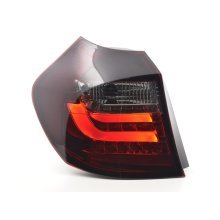 Led Taillights BMW serie 1 E87/E81 3/5-Dr. Year 07-11 red/black