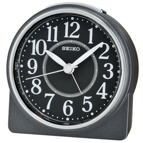 Seiko Beep Alarm Clock with Snooze - Black (QHE137K)