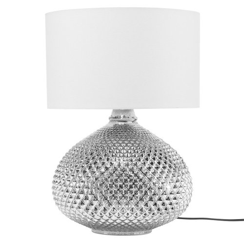 Table Lamp Metal Silver MADON
