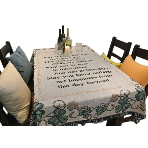 [Words] Country Style Tablecloths/Table Cloths/Table Cover (130*160CM)