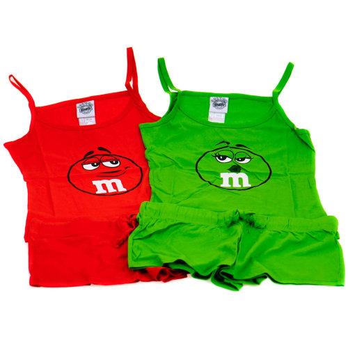 Girls Pyjamas Set - M&M's Chocolate Candy