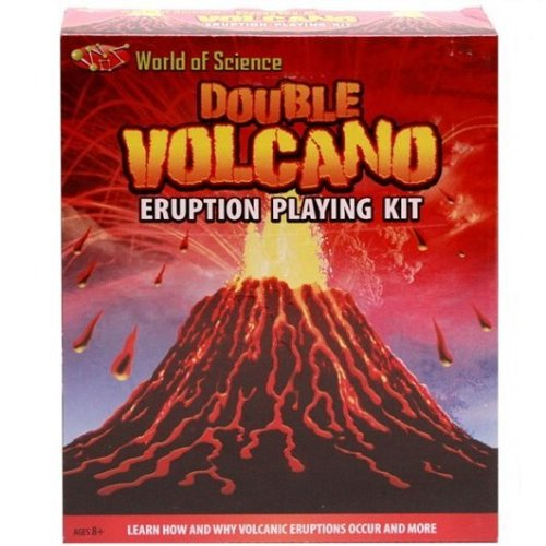 Double Volcano Eruption Kit - Fun Children's Science Experiment for Ages 8+