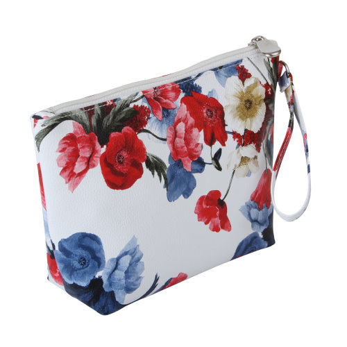 FMG Small Cosmetics Make Up Bag, Poppy