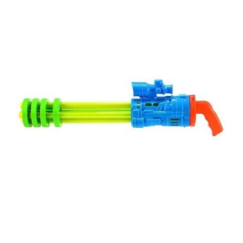 5 Barrel Long Range Water Machine Blaster Gun