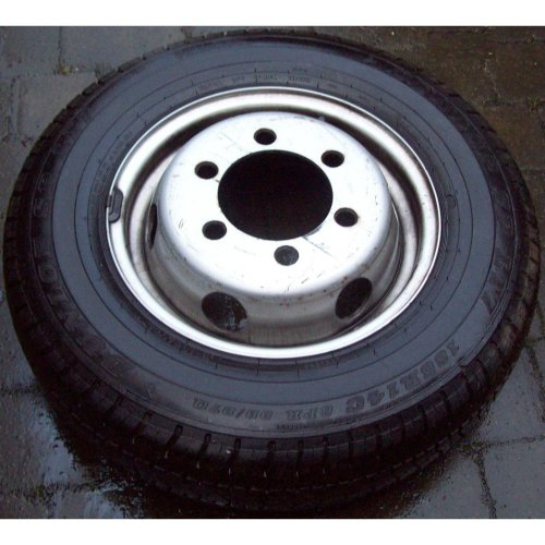 "Ford Transit 14"" Wheel Early Type + Dunlop Tyre"