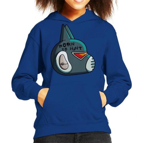 Final Space Avocato Helmet Kid's Hooded Sweatshirt