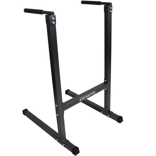 Gym Master Heavy Duty Dip Station Stand Tower Parallel Bar Ab Power Home Workout