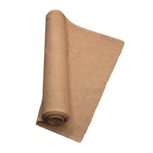LA Linen 40IN-Burlap-50YardRoll 50 Yards Burlap Fabric, Natural - 40 in.